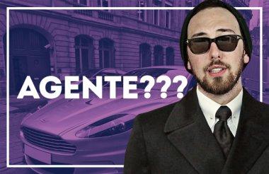 """Vlog: -Ele escreveu """"agente"""""""
