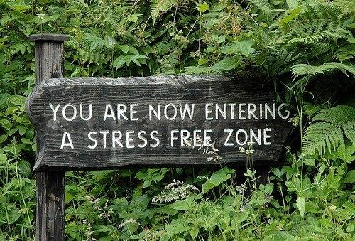Ficar estressado vai resolver o problema?