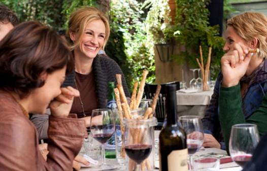 "Julia Roberts as ""Elizabeth Gilbert"" in Columbia Pictures' EAT, PRAY, LOVE."