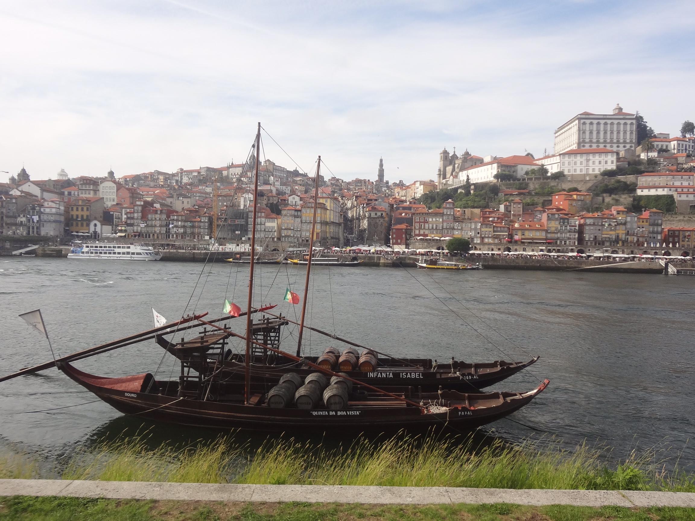 Rio Douro durante o dia