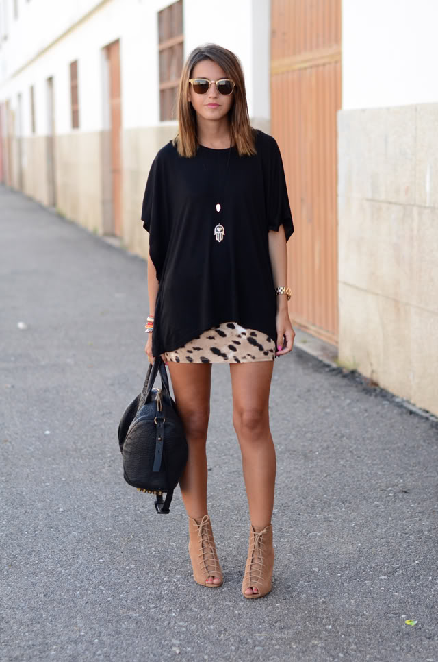 EOH Animal Print Saia Credito Blog Lovely Pepa