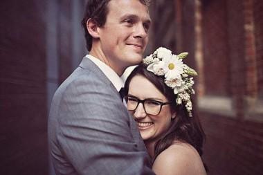10 noivas lindas que resolveram casar usando óculos