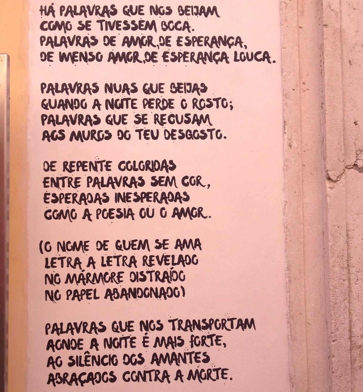 Poesia de rua