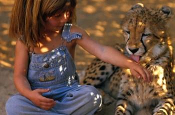 Tippi Degré : a garota que é melhor amiga dos animais na África