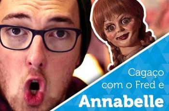 Vlog: O dia que eu vi Annabelle