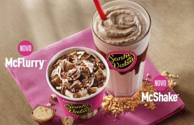 OMG! Chegaram os novos McFlurry e McShake sabor Sonho de Valsa <3