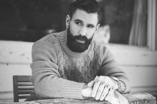 Homem barbado - Um devaneio sobre a maturidade