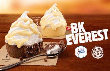 BK EVEREST, a nova sobremesa irresistível do Burger King!
