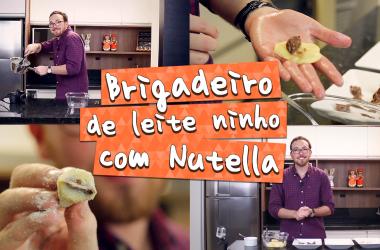 Vlog: Brigadeiro de Leite Ninho com Nutella   Fred na Cozinha