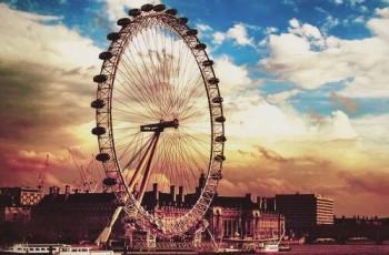 Londres, a cidade do céu indeciso e do amor – roda – gigante