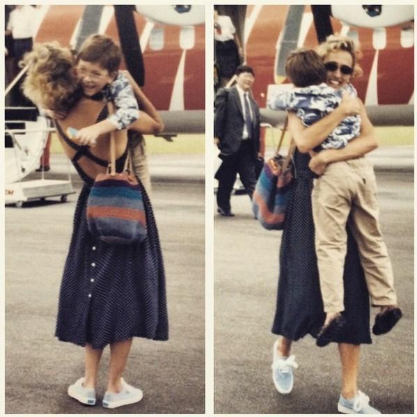 Chegando para abraçar a Mãe haha ;)
