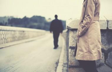 O amor da sua vida está indo embora