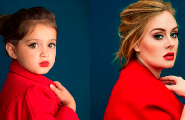 Com apenas 3 anos ela faz sucesso no Instagram recriando seus ídolos