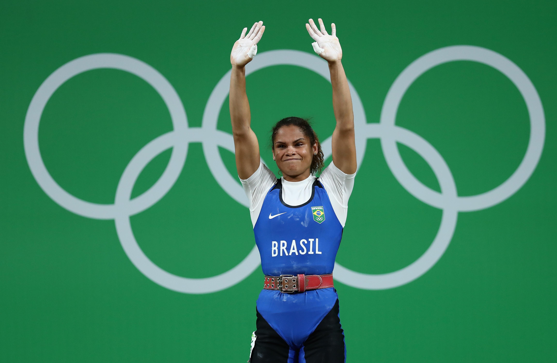 Rosane Reis bate o record com a melhor posição na história de levantamento de peso no Brasil (entre todos os competidores).