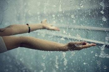 O amor é como a chuva