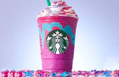 Starbucks americana lança um frappuccino inspirado em unicórnios <3